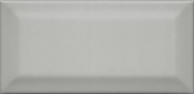 Interiérový lesklý obklad CLEMENCEAU Dark Grey 7,4x15cm č.1
