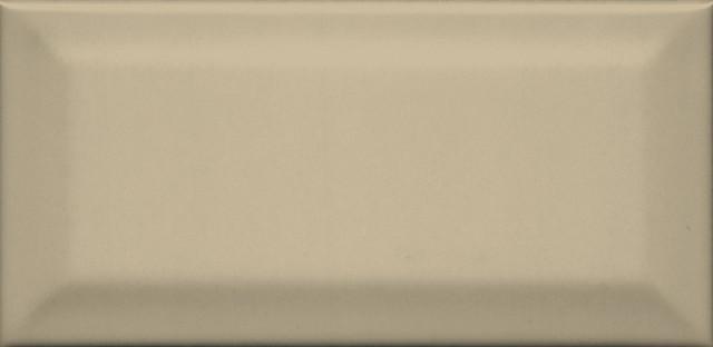Interiérový lesklý obklad CLEMENCEAU Dark Beige 7,4x15cm č.1