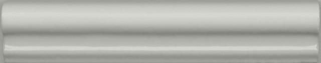 Interiérový lesklý dekor CLEMENCEAU Dark Grey 3x15cm č.1