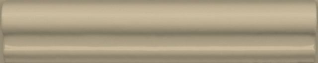 Interiérový lesklý dekor CLEMENCEAU Dark Beige 3x15cm č.1