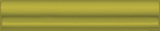 Interiérový lesklý dekor CLEMENCEAU Olive 3x15cm č.1