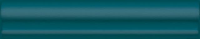 Interiérový lesklý dekor CLEMENCEAU Turquoise 3x15cm č.1