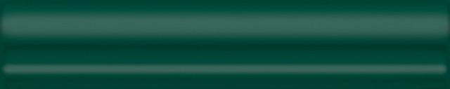 Interiérový lesklý dekor CLEMENCEAU Green 3x15cm č.1