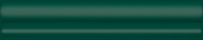Interiérový lesklý dekor CLEMENCEAU Green 3x15cm