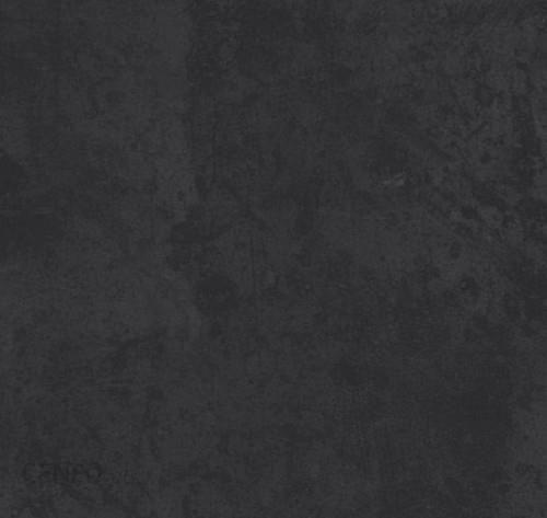 Velkoformátová dlažba v imitaci plechu MINERAL Black rett. 75 x 75 cm