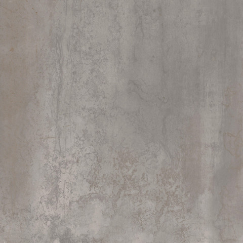 Velkoformátová dlažba v imitaci plechu MINERAL Silver rett. 75 x 75 cm č.1