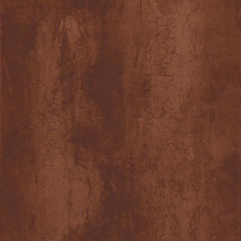Velkoformátová dlažba v imitaci plechu MINERAL Corten rett. 75 x 75 cm č.1