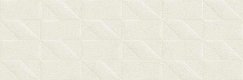 Matný světlý dekor OUTFIT Tetris 3D Ice 25 x 76 cm