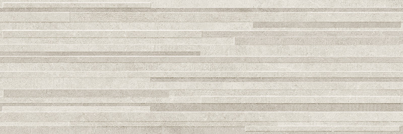 Matný rektifikovaný dekor v imitaci kamene DOVER Grey Block 3D 30 x 90 cm