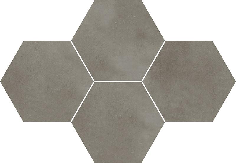 Hexagonová dlažba TOWN Grey 28,3 x 40,8 cm