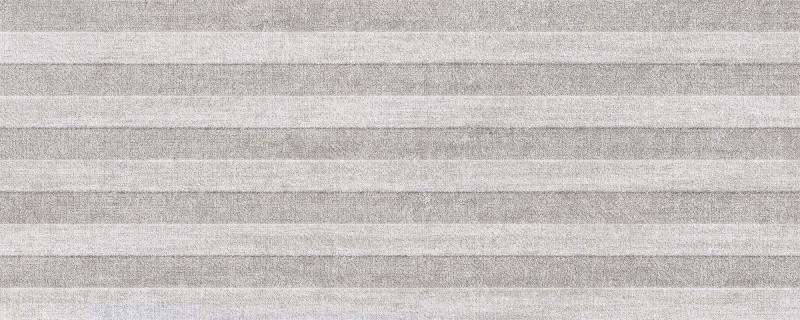 Dekor MOTIVO Grey 20 x 50 cm