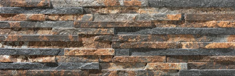 Mrazuvzdorný obklad imitace kamene BEHOBIA Magma 17 x 52 cm