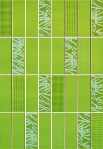 Lesklý dekor ARCO Zel 25x36 cm