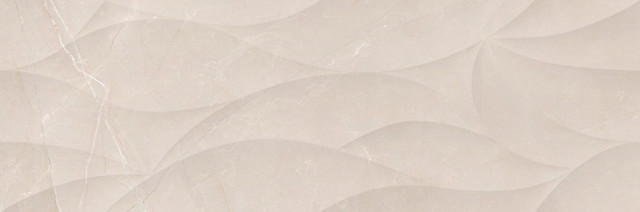 Lesklý dekor ELEGANT Petals 3D Crema 20 x 60 cm