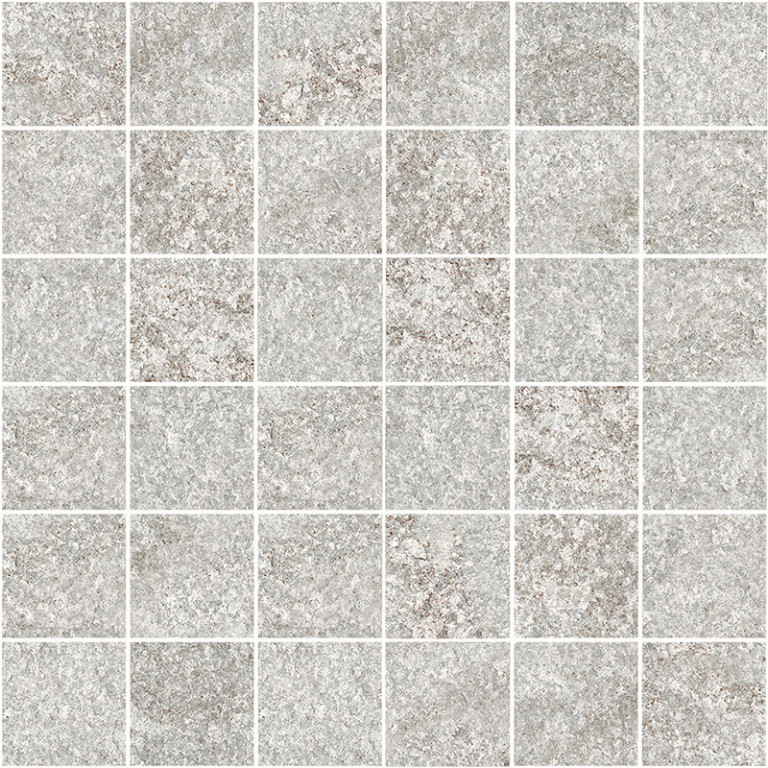 Mozaika s přírodním povrchem na venkovní použití QUARZITE P Mosaic 1 30 x 30 cm