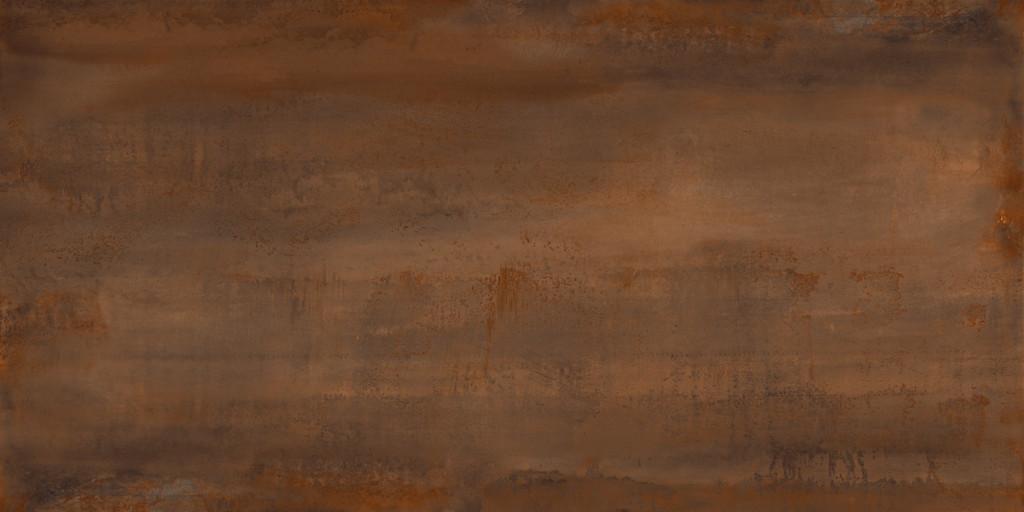 Velkoformátová dlažba zoxidovaného kovu OXIDATIO Tellurium 61 x 121 cm