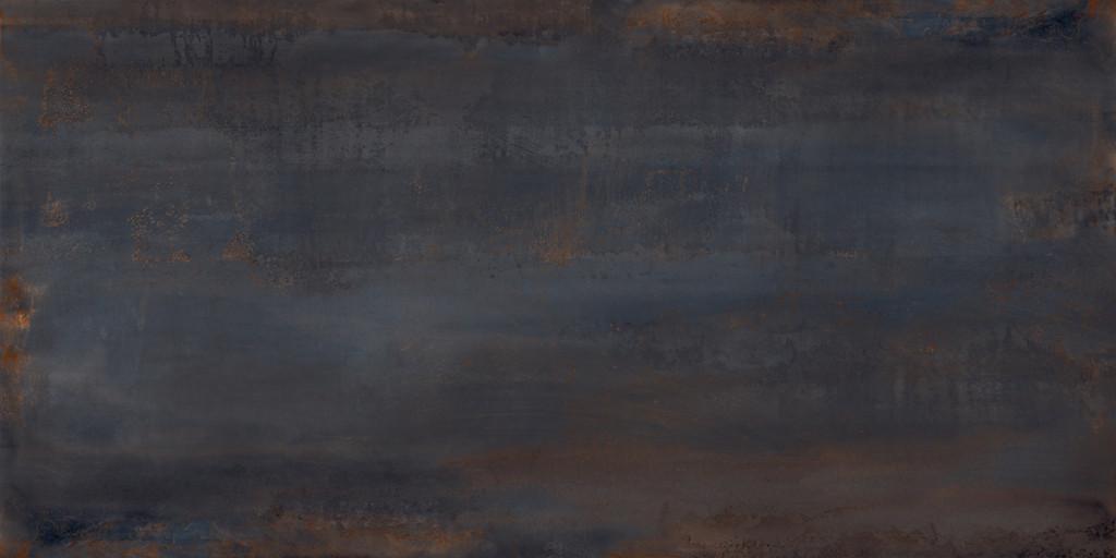 Velkoformátová dlažba zoxidovaného kovu OXIDATIO Palladium 61 x 121 cm