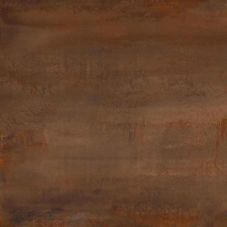 Velkoformátová dlažba zoxidovaného kovu OXIDATIO Tellurium 61 x 61 cm