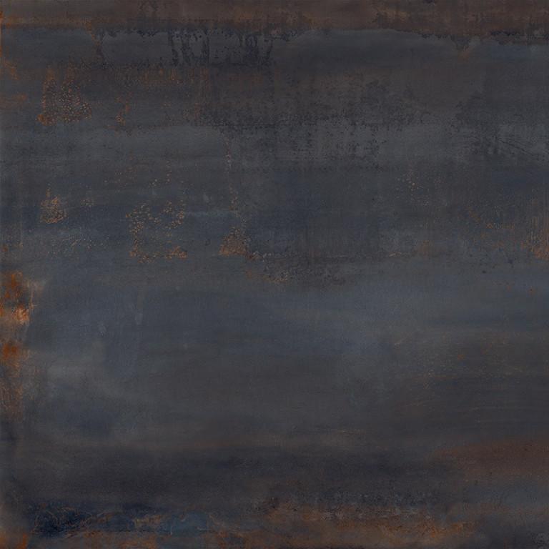 Velkoformátová dlažba zoxidovaného kovu OXIDATIO Palladium 61 x 61 cm
