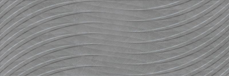 Matný rektifikovaný dekor KROMA Link Grafito 30 x 90 cm