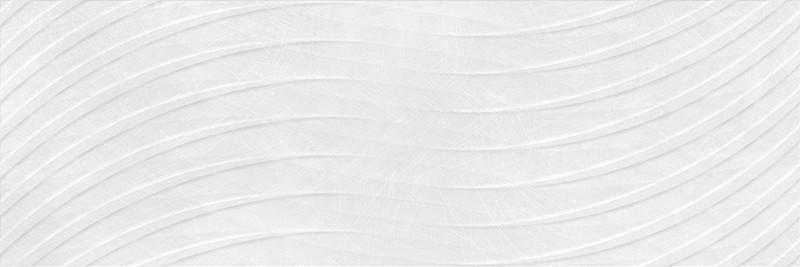 Matný rektifikovaný dekor KROMA Link Blanco 30 x 90 cm
