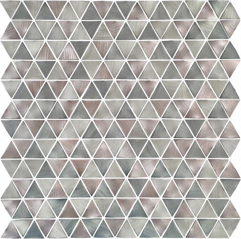 Mozaika s metalickým povrchem KROMA 30 x 30 cm
