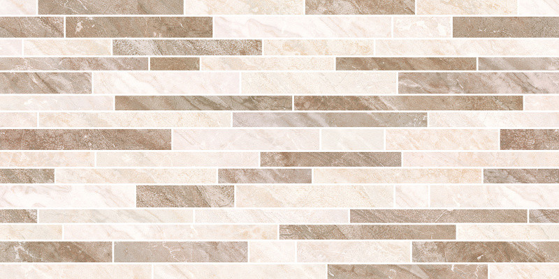 Lesklý dekor ROCCA Mosaic 25 x 50 cm