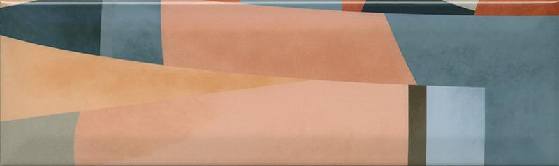 Interiérový lesklý dekor ACCORD A07 8,5 x 28,5 cm