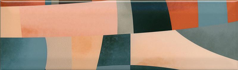 Interiérový lesklý dekor ACCORD A02 8,5 x 28,5 cm