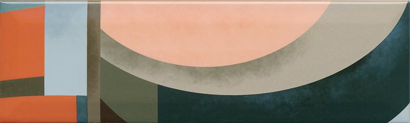 Interiérový lesklý dekor ACCORD A03 8,5 x 28,5 cm
