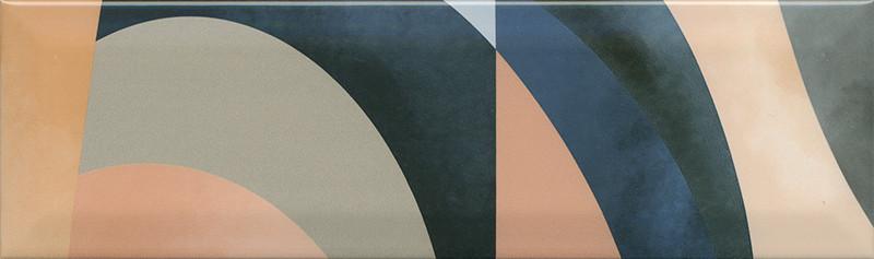 Interiérový lesklý dekor ACCORD A08 8,5 x 28,5 cm