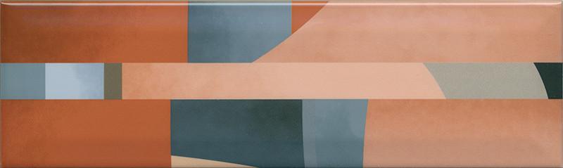 Interiérový lesklý dekor ACCORD A09 8,5 x 28,5 cm