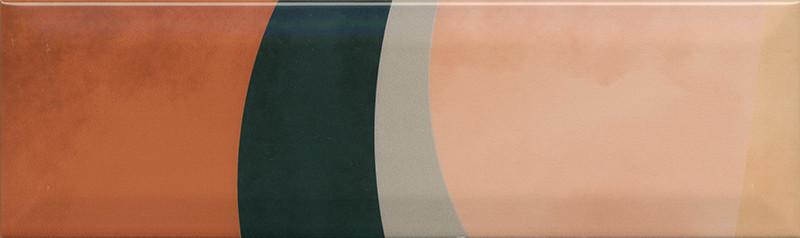 Interiérový lesklý dekor ACCORD A05 8,5 x 28,5 cm