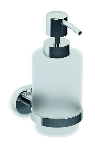 Dávkovač na mýdlo CHROME sklo