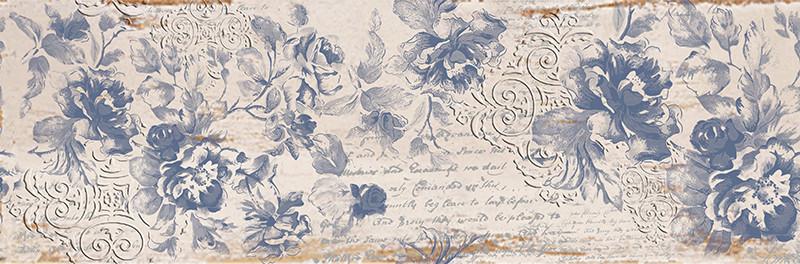 Květinový dekor imitace dřeva ETNIC Prescious 1 25 x 75 cm