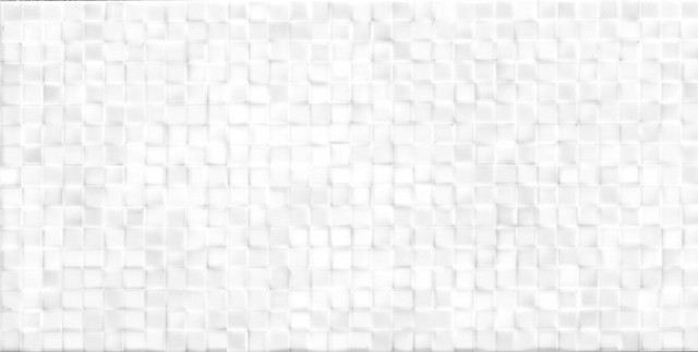 Lesklý bílý dekor WHITE ELEGANCE Andros 25 x 50 cm