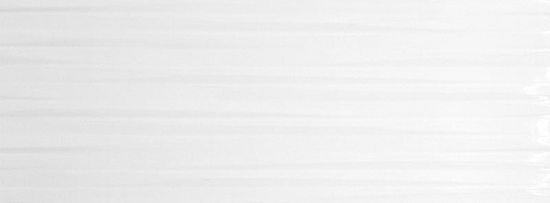 Lesklý bílý dekor WHITE ELEGANCE 20 x 60 cm