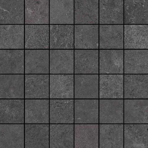 Mrazuvzdorná mozaika STREAM Anthracite 30x30 cm