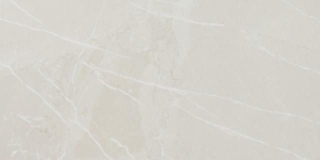 Lesklá rektifikovaná dlažba v imitaci mramoru MUSEUM Ivory 60 x 120 cm