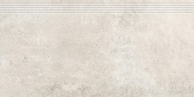 Schodovka v imitaci betonu GREY WIND Mild 30x60 cm rett.
