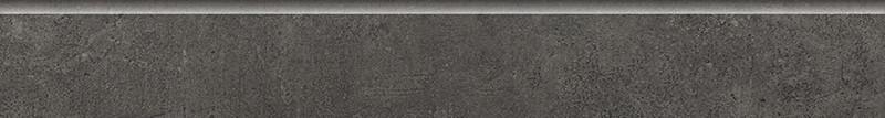Sokl v imitaci betonu GREY WIND Antracite 8x60 cm rett.
