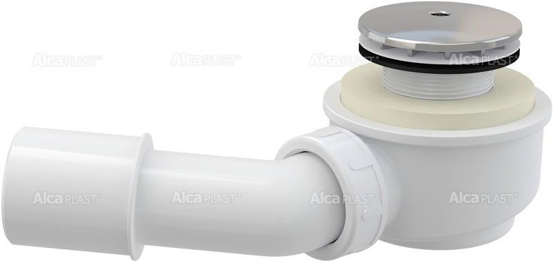 Snížená odtoková souprava vaničková chrom průměr 60 A471CR