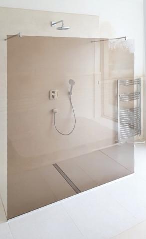 Bezdveřová sprchová zástěna WALK IN 1200 + U profil č.2