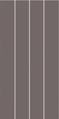 Dekor CONCEPT PLUS, 20 x 40 cm, Tmavě šedá - WIFMB011