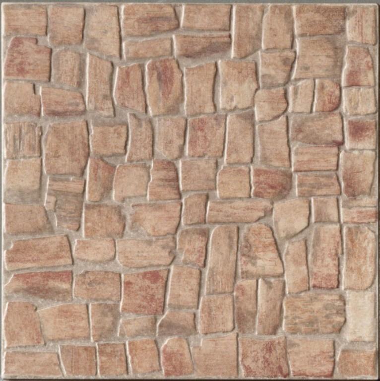 Mrazuvzdorná dlažba imitace kamene ROCKY Red