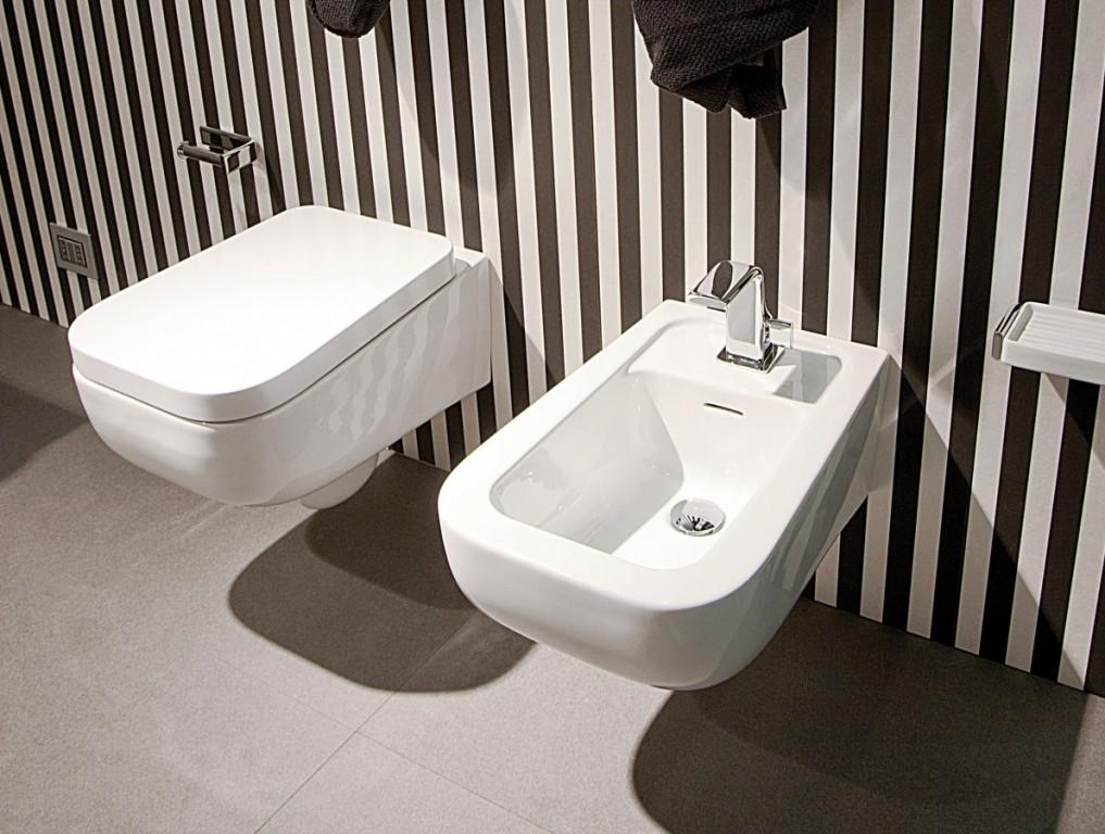 WC sedátko s přesahem a brzdičkou FLAMINIA Como