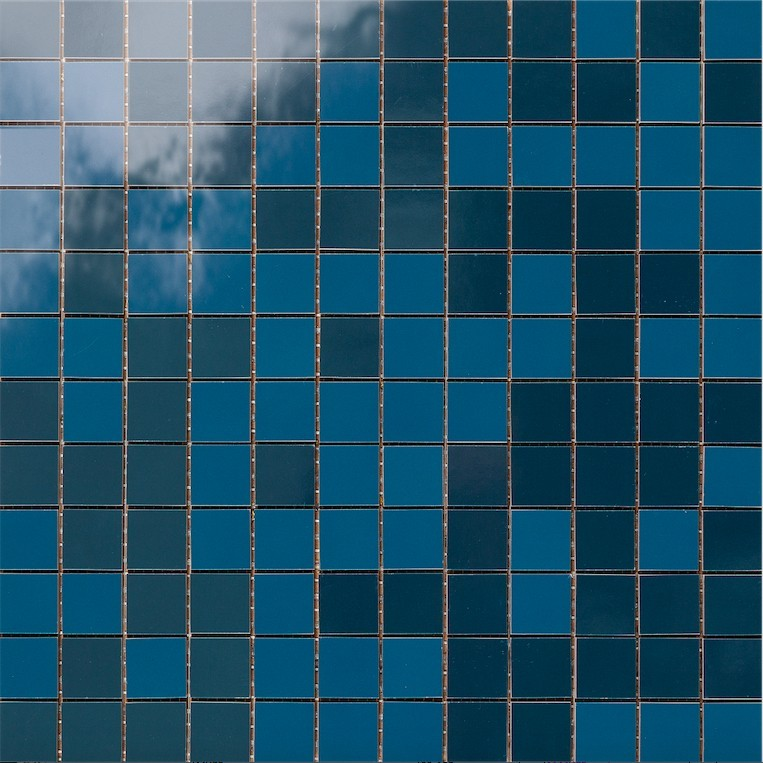 Mozaika IMPERFETTO Modrá