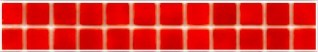Listela VIDREPUR Red