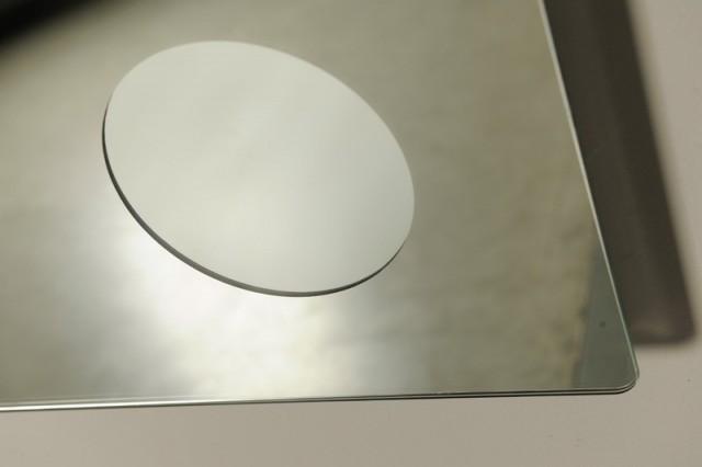 Zrcadlo s integrovaným kosmetickým zrcátkem COSMETICO 100 x 70 cm