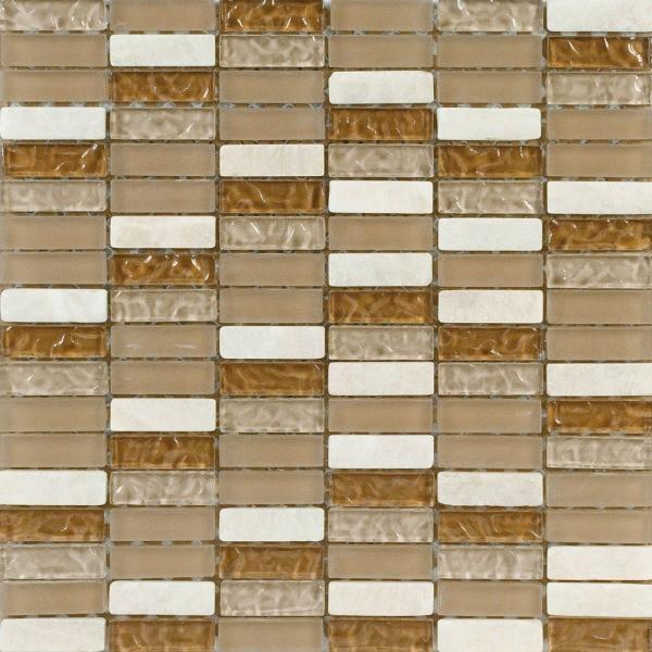 Skleněná mozaika GALERY Hnědá 243